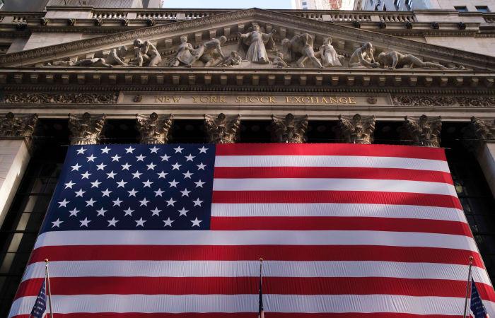 US stock market trading mixed