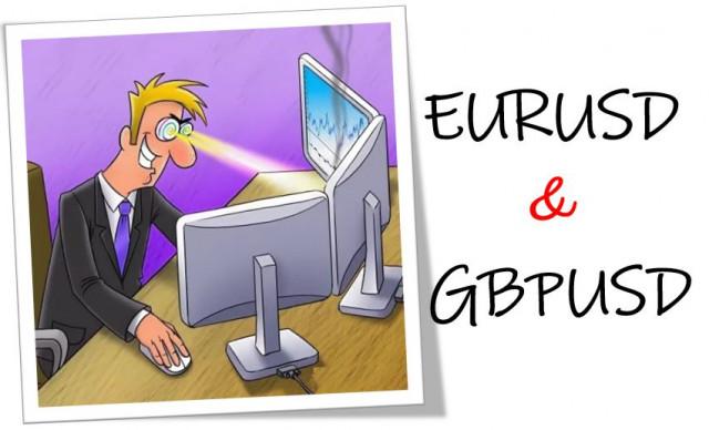 Aprendemos y analizamos. Plan comercial para los operadores principiantes con EURUSD y GBPUSD el 7 de septiembre de 2021