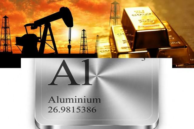 Сырьевые товары: нефть и золото падают из-за укрепления доллара, алюминий растет
