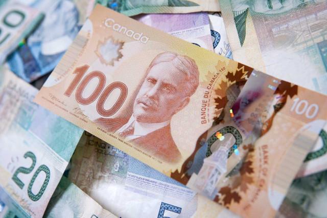 加拿大央行政策决定后,美元兑加元下跌