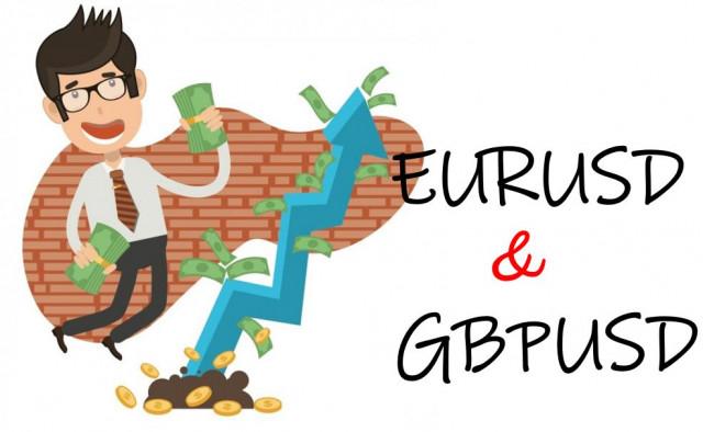 Pelan dagangan pasangan mata wang EUR/USD dan GBP/USD pada 14 September 2021