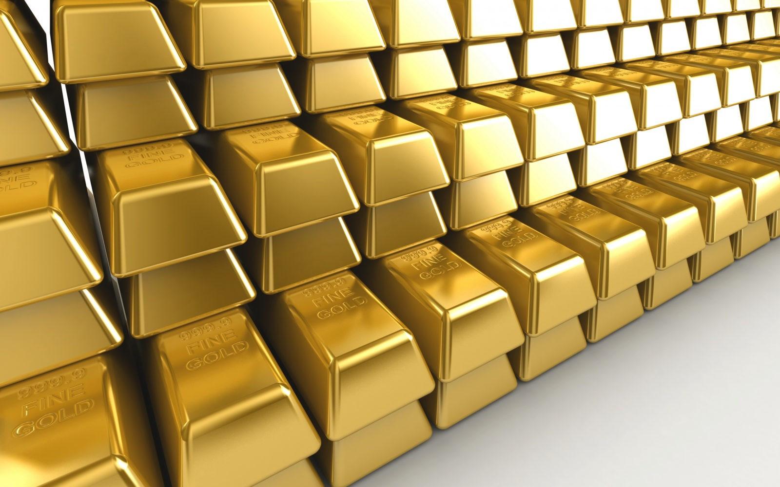 Emas tembus ke atas level $1.800, sementara paladium turun lebih dari $100 sehari