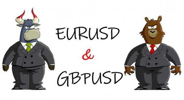 Rancangan dagangan untuk pedagang baru pasangan mata wang EUR/USD dan GBP/USD pada 17 September 2021