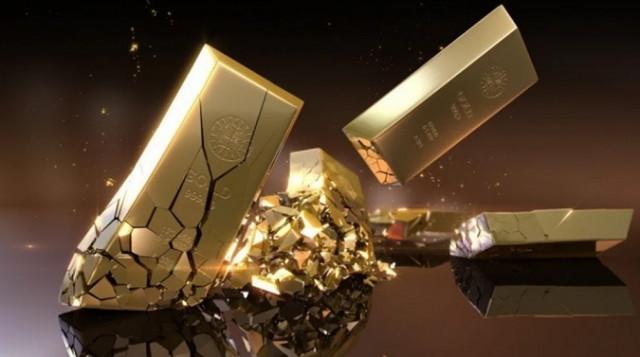 Emas merosot ke paras terendah empat minggu