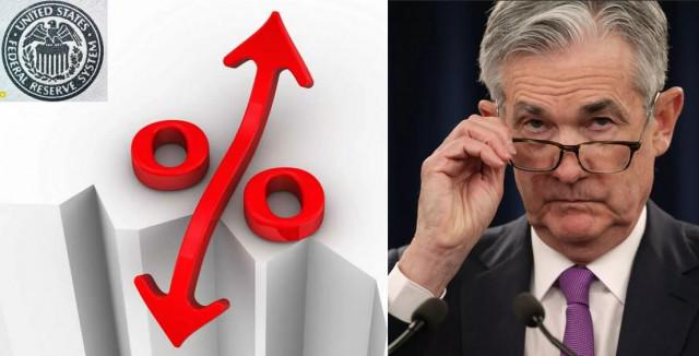 FOMC, declaración de política de la Fed, y pronósticos de los tipos de interés