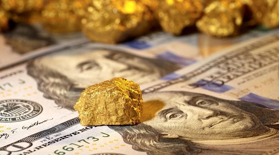 Gold versus US dollar: precious metal cannot take punch
