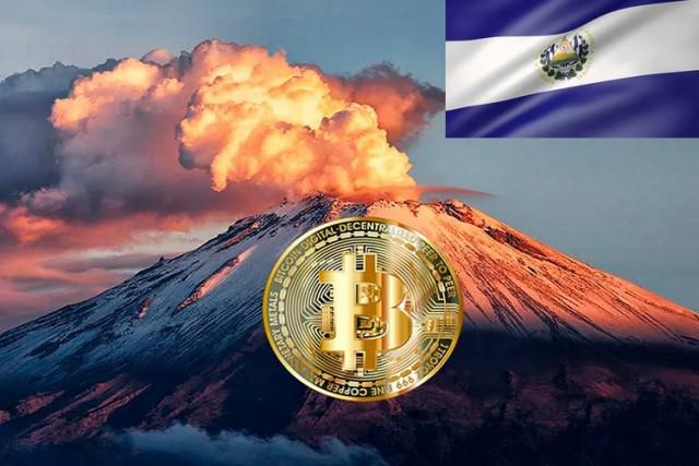 El Salvador comienza a extraer BTC con la energía derivada de volcanes