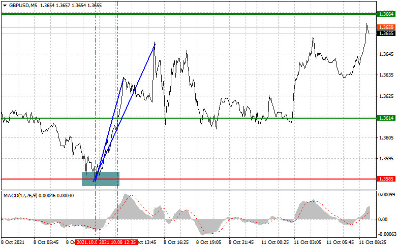 Analysis and trading recommendations for GBP/USD on October 11