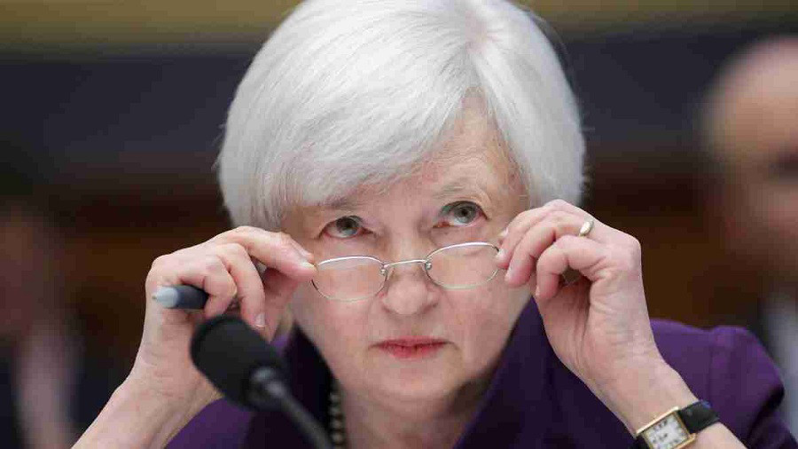 """Janet Yellen considers the US debt limit a """"constant threat to the economy"""""""