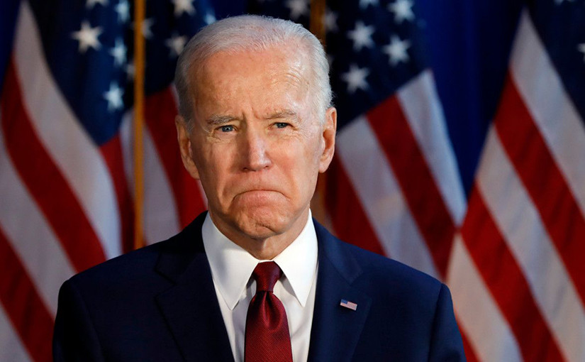 Joe Biden's ratings continue to fall.