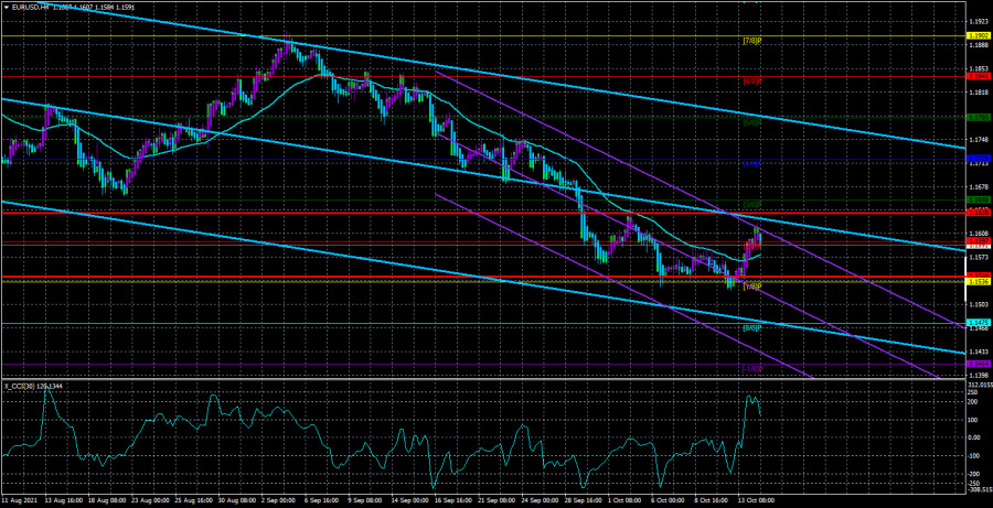 Overview of the EUR/USD pair. October 15. US Federal Reserve minutes
